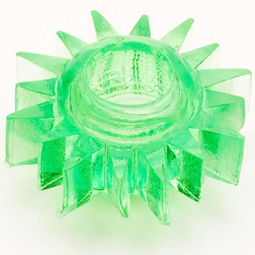 Toyfa кольцо, зеленое Гелевое, эрекционное toyfa кольцо розовое гелевое эрекционное