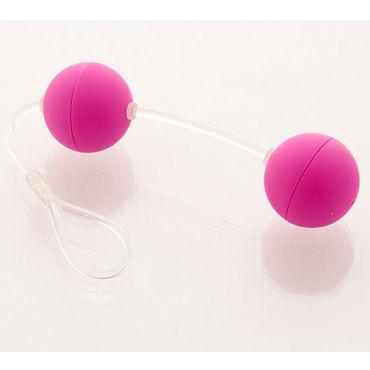 Sexus Funny Five шарики, фиолетовые Для стимуляции вагинальных мышц sexus шарики вагинальные 11 см желтые без вибрации гладкие