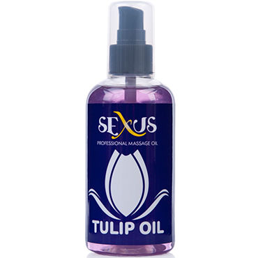 Sexus Tulip Oil, 200 мл Массажное масло, с ароматом тюльпана masculan massage oil citrus sensual touch 200 мл массажное масло с цитрусовым ароматом
