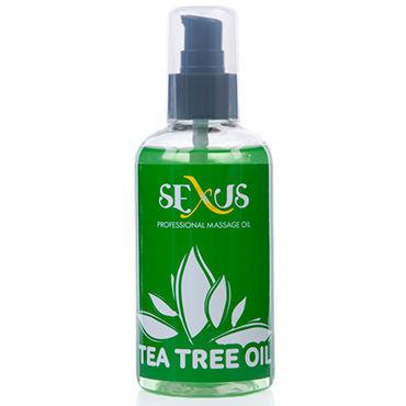 Sexus Tea tree Oil, 200 мл Массажное масло, с ароматом чайного дерева sexus rose oil 200 мл массажное масло с ароматом розы