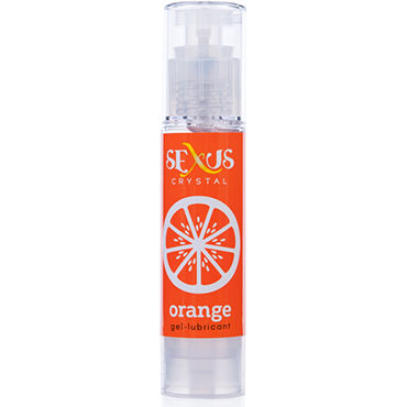 Sexus Crystal Orange, 60 мл Увлажняющая гель-смазка с ароматом апельсина flutschi toy gel 50 мл лубрикант для применения с игрушками