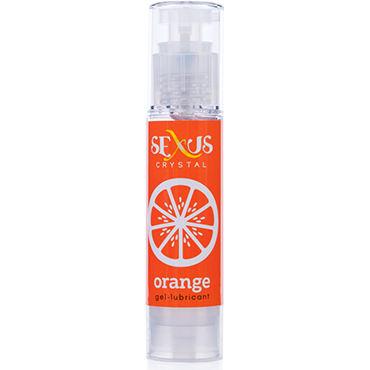 Sexus Crystal Orange, 60 мл Увлажняющая гель-смазка с ароматом апельсина topco climax anal silicone swirl anal beads красная анальная цепочка