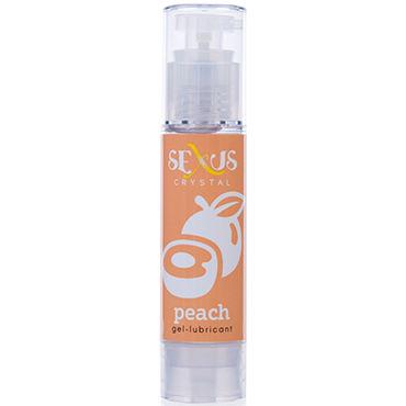 Sexus Crystal Peach, 60 мл Увлажняющая гель-смазка, с ароматом персика гель смазка мужская desire 60мл