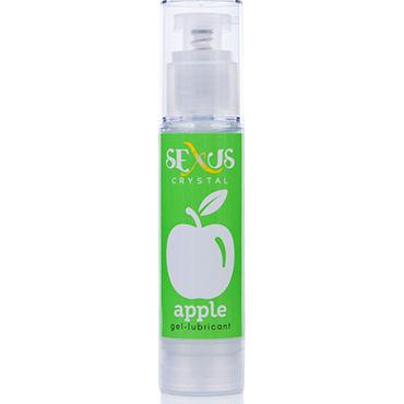Sexus Crystal Apple, 60 мл Увлажняющая гель-смазка с ароматом яблока гель смазка женская с феромонами desire 60 мл