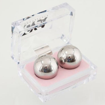 Toyfa вагинальные шарики, 2,5 см Металлические, в коробочке toyfa шарики фиолетовые вагинальные