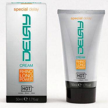 Hot Delay Cream, 50 мл Крем для продления эрекции bioritm sex expert long time 40 гр мужской крем для продления полового акта