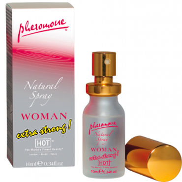 Hot Woman Natural Spray Extra Strong, 10 мл Духи-спрей для женщин с феромонами
