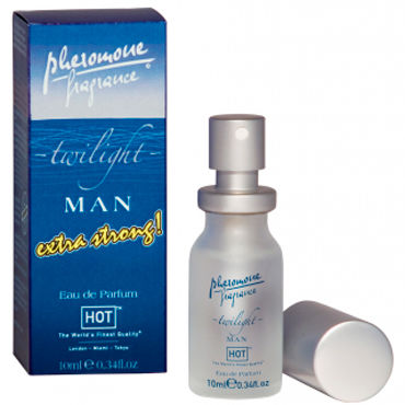 Hot Man Twilight Extra Strong, 10 мл Духи-спрей для мужчин с феромонами ф hot tokyo urban man 30мл