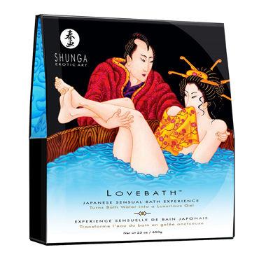 Shunga Lovebath Океанское искушение, 650 гр Гель для ванны кожаная и лаковая одежда цвет коричневый