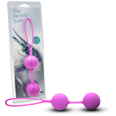 Gopaldas Perfect balls Вагинальные шарики, розовые gopaldas dacilating duo balls racing