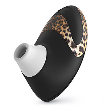 Womanizer Pro, черный/леопардовый Вакуумный стимулятор клитора, улучшенная версия womanizer pro сиреневый вакуумный стимулятор клитора улучшенная версия