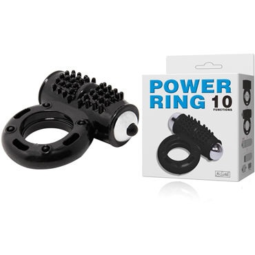 Baile Power Ring Эрекционное кольцо с вибрацией zado leather collar ошейник с кольцом для пристегивания
