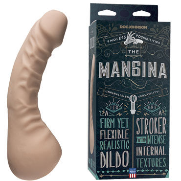 Doc Johnson The Mangina Мастурбатор-фаллоимитатор doc johnson optimale reversible ur3 stroker studs двухсторонний мастурбатор