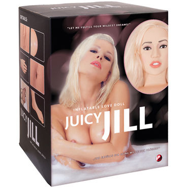 Bad Kitty Love Doll Juicy Jill, телесная Кукла с анатомическим лицом и конечностями sex toys for man 6 rotation mode 3 vibration mode masturbator rechargeable licking and suck cup with 3 caps sex products