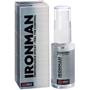 JoyDivision IronMan Spray, 30мл Пролонгатор спрей для мужчин joydivision soft tampons normal 50шт мягкие тампоны