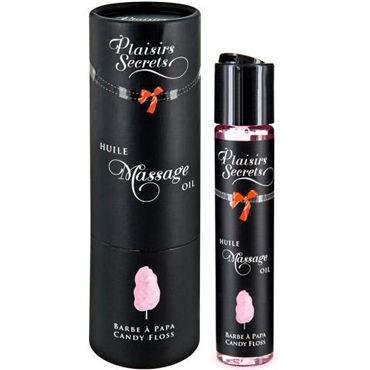 Plaisirs Secrets Massage Oil Candy Floss, 59мл Массажное масло Сладкая вата массажное масло concorde карамель 59 мл