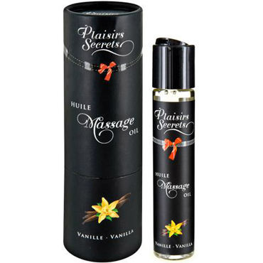 Plaisirs Secrets Massage Oil Vanilla, 59мл Массажное масло Ваниль plaisirs secrets massage oil caramel 59мл массажное масло карамель