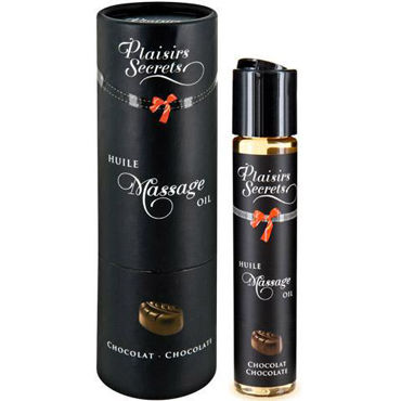 Plaisirs Secrets Massage Oil Chocolate, 59мл Массажное масло Шоколад массажное масло concorde клубника 59 мл