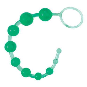 Gopaldas DragonZ Tale зеленый Анальный стимулятор на жесткой сцепке gopaldas анальная цепочка синяя на жесткой сцепке