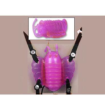 Gopaldas Butterfly Massager розовый Клиторальный стимулятор с вибрацией gopaldas magic flesh stud это