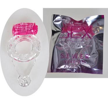 Sextoy Кольцо Эрекционное кольцо со стимулятором клитора шарики вагинальные золотые