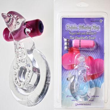 Sextoy Кольцо Эрекционное кольцо с вибрацией pipedream anal fantasy collection small silicone plug анальная пробка небольшого размера