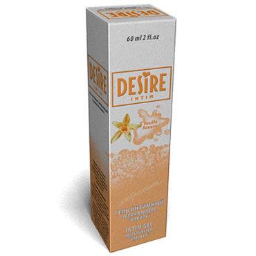 Desire Intim Vanilla, 60 мл Лубрикант на водной основе с ароматом ванили desire prolongator 30 мл крем гель пролонгирующего действия