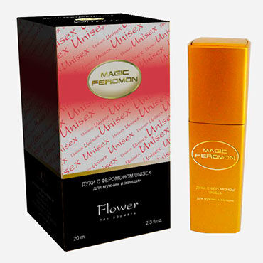 Magic Feromon Flower Unisex, 20 мл Духи с феромонами унисекс, цветочный аромат черный корсет с красным лифом queen l