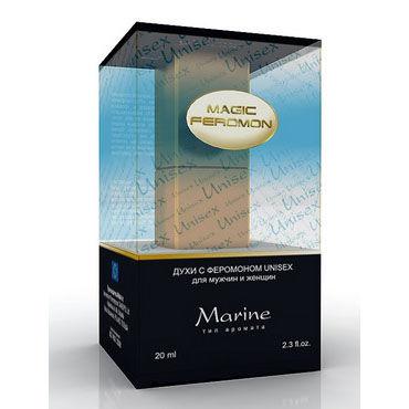 Magic Feromon Marine Unisex, 20 мл Духи с феромонами унисекс, морской аромат духи мужские зодиак весы с повышенным содержанием феромона 5 мл