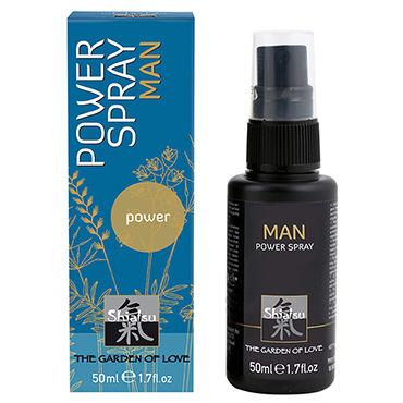 Shiatsu Man Power Spray, 50 мл Спрей для мужчин, увеличивающий эрекцию спрей гармония 8 мл х6