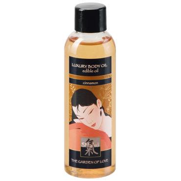 Shiatsu Luxury Body Oil Cinnamon, 100 мл Съедобное масло с ароматом корицы shiatsu helsinki