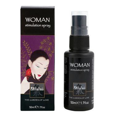 Тестер Shiatsu Woman Stimulation Spray Стимулирующий спрей для женщин тестер shiatsu tightening spray woman спрей для женщин с сужающим эффектом