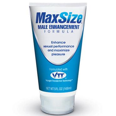 Swiss Navy MaxSize, 148 мл Возбуждающий крем для усиления эрекции презерватив luxe exclusive ночной разведчик 1