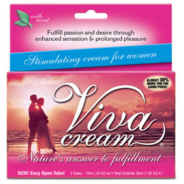 Swiss Navy Viva Cream, 30 мл Возбуждающий крем для женщин shaki секс игрушки для взрослых кольцо для мужчин
