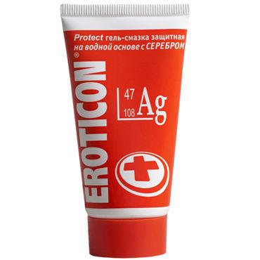 Eroticon Ag, 50 мл Гель-смазка защитный ledapol платье черное
