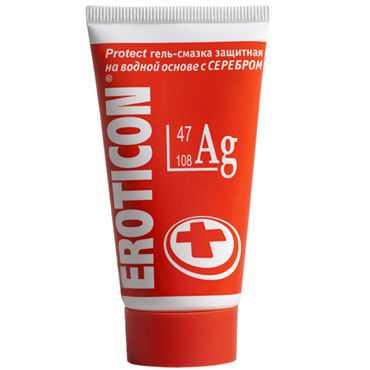 Eroticon Ag, 50 мл Гель-смазка защитный eroticon гель смазка protect 50 мл защитная с серебром