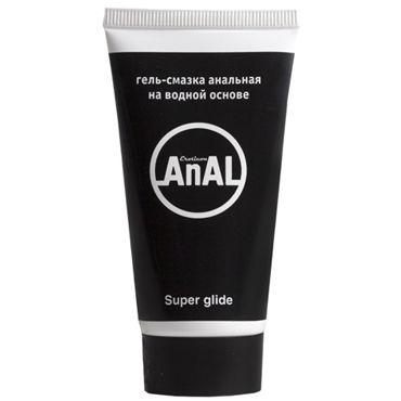 Eroticon Anal Super Glide, 50 мл Для анального секса eroticon гель смазка active 50 мл регенерирующая с провитамином