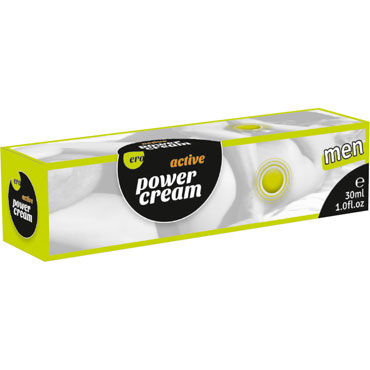Hot Penis Power Cream Active Men, 30мл Крем для мужчин, усиливающий эрекцию фаллоимитатор 18 с присоской