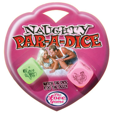 Pipedream Naughty Par-A-Dice Эротическая игра для пар ns novelties jolie бирюзовый анальная пробка среднего размера