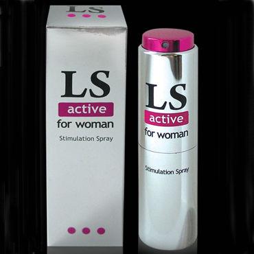 Bioritm Lovespray Active Women, 18 мл Cпрей-лубрикант с возбуждающим эффектом женская мода сексуальное масло блестящие глянцевые чулки женское открытое колготки колготки bodystockings lingerie для lady