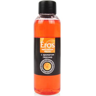 Bioritm Eros, 75 мл Массажное масло с ароматом персика desire массажное масло 150 мл разогревающее