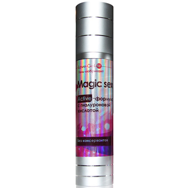 Bioritm LoveGel Magic Sex, 55 гр Гель-любрикант с гиалуроновой кислотой allure lingerie wet look side slashed leggings леггинсы с прорезями