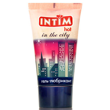 Bioritm Intim Hot, 60 мл Лубрикант на гелевой основе с афродизиаком bioritm intim classic 60 мл с алое вера и витамином е