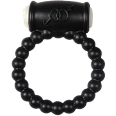 Alive Power Ring Balls, черное Эрекционное кольцо с вибрацией эрекционное кольцо ovo b10 vibrating ring черное