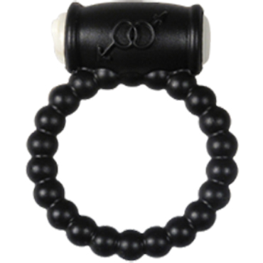Alive Power Ring Balls, черное Эрекционное кольцо с вибрацией the screaming o vibrating ring классическое кольцо с вибрацией