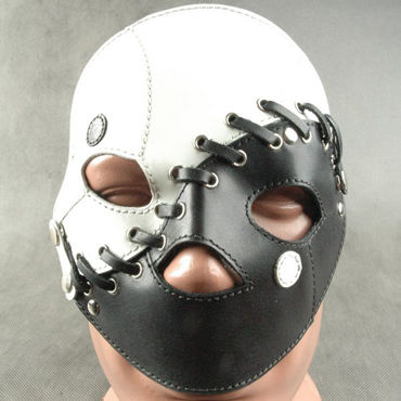 Beastly Маска сборная, черно-белая С 3-мя вариантами ношения beastly маска черная с отстегивающимися элементами