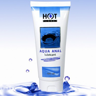Hot Planet Aqua Anal, 100 мл Смазка на водной основе для анального секса mif анальный стимулятор в виде елочки 14 5 см