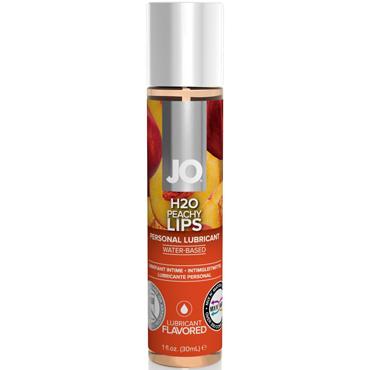 цена на JO H2O Peachy Lips, 30 мл Съедобный лубрикант с ароматом Персик