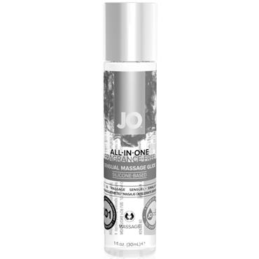 JO All-In-One Massage Glide Fragrance Free, 30 мл Массажное масло и лубрикант без запаха desire массажное масло 150 мл разогревающее