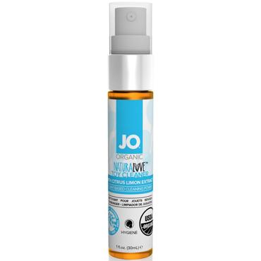 JO Naturalove USDA Organic Toy Cleaner, 30 мл Натуральное средство для очистки игрушек очиститель антибактериальный climax bursts antibacterial adult toy cleaner 118 мл